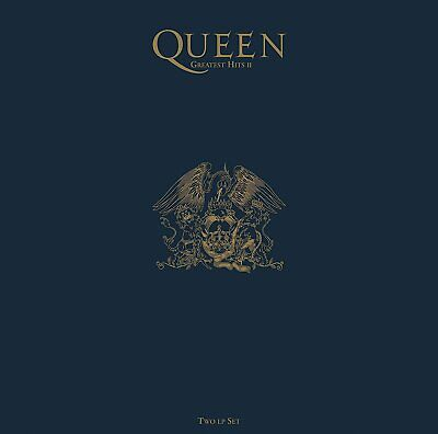 Queen Greatest Hits 2 II Hollywood Records US vinyl 2 LP 1/2 speed mastered g/f