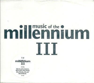 Music Of The Millennium III 4 (2002) 2CD NUOVO The Police, Blondie, Madonna, U2