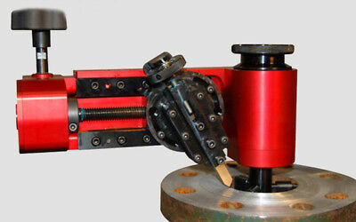 Flange facer high efficient precisen light weight, easy setup pipe flanging tool