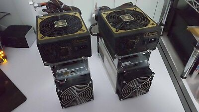2 x Bitmain Bitcoin ANTMINER S7-LN includes power supply 2.7TH/s BTC