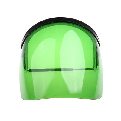 Safety Face Shield Mask Flip Up Visor Clear Protector Eye Protection Green