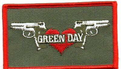 Green Day-2 Guns-Official Sew On Embroidered Patch