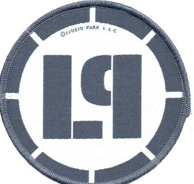 LINKIN PARK LP LOGO CIRCULAR-Official Sew On Embroidered Patch
