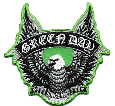 Green Day-Shaped Eagle-Official Sew On Embroidered Patch