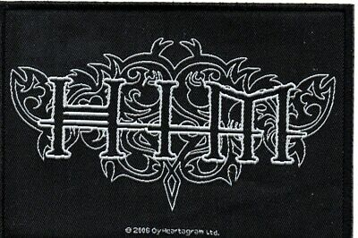 HIM-Ornate (woven patch)-Official Sew On Woven Patch