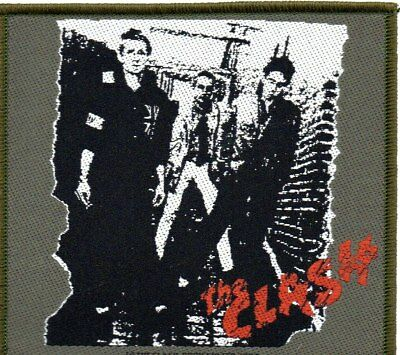 THE CLASH-1st LP Cover-Official Sew On Woven Patch