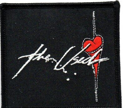 The Used-Heart-Official Sew On Embroidered Patch