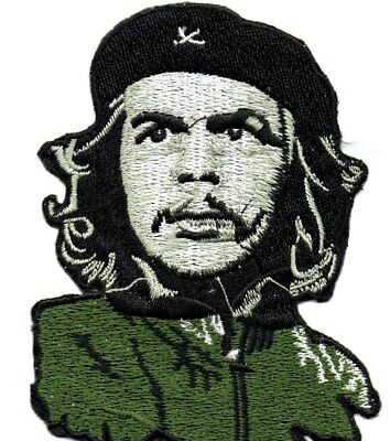 CHE GUEVARA-Shaped Head/shoulders-Official Sew On/Iron-On Embroidered Patch