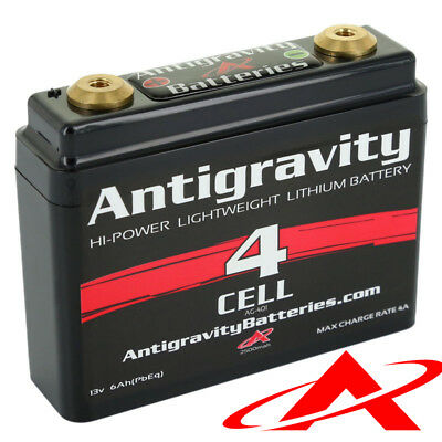 NEW Antigravity Batteries AG-401 Lithium Motorcycle Battery 120 CCA 4-Cell 12V