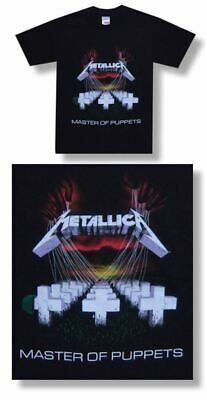 Metallica Master Of Puppets No Back Tee-Large-T Shirt-Brand New