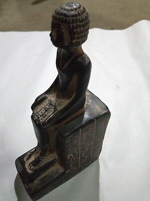 RARE ANCIENT ANTIQUE EGYPTIAN God Statue Imhotep 2630-2611 Bc