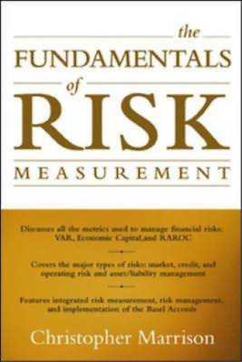 The Fundamentals of Risk Measurement, Marrison, Christopher, Used; Good Book