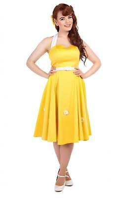 Collectif Vintage Daisy Swing Dress