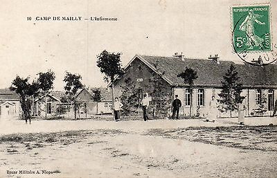 Cpa Camp De Mailly - L'infirmerie ( Aube Troyes )