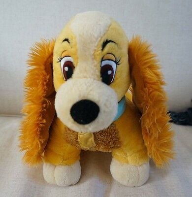 Disney Lady And The Tramp Disney Store Lady Dog Plush Soft Toy 30cm Stamped