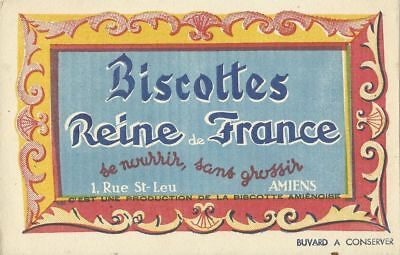 BUVARD 109429 REINE DE France BISCOTTES-JUN