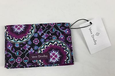 Vera Bradley RFID Card Case in Lilac Medallion, New.With Tags-Free Ship-Rare