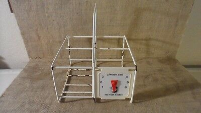 STERMAT 4 Milk Bottle CARRIER or TOTE with ARROW / MESSAGE SIGN
