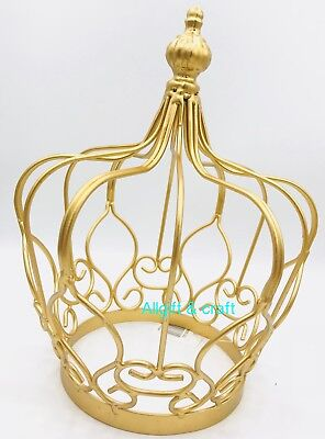 Quinceanera Wedding Table Decorations Centerpieces,caketopper ,gold Crown  10u201d