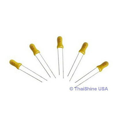 10 x 10uF 16V Radial Capacitor Tantalum 4 Days Delivery