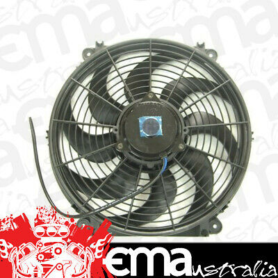 "13"" Electric Thermo Fan (1430 cfm - Puller Type With Reversible Curved Blades (B"