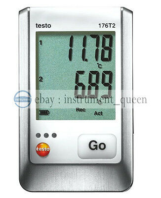 testo 176-T2 Temperature logger -100 to +400 °C 0572 1762