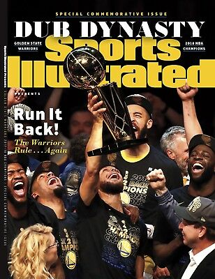 Sports Illustrated Golden State Warriors 2018 NBA Finals Champions Commemorative