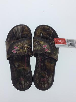 f9db240442c5 UNDER ARMOUR IGNITE Realtree Camo VII Slide Sandals Women s Size 6 ...