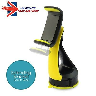 Universal In Car Mobile Phone Sat Nav Pda Gps Holder With Locking Suction Mount