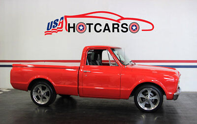 C-10 -- 1967 Chevrolet C10, the Classic American Pickup with a Custom Interior.