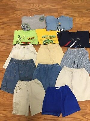 14 Piece Lot of Boys Clothing, Size 4T, Some Boutique