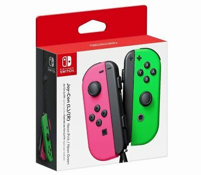 Nintendo - Joy-Con (L/R) Wireless Controllers for Switch - Neon Pink/Neon Green