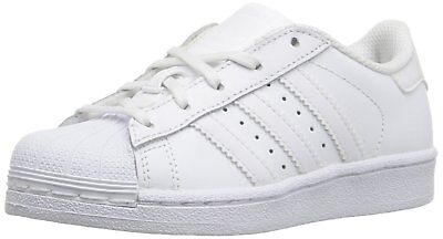 ADIDAS BA8380  KIDS  Superstar Foundation EL C White Sneaker (115 ... 1cd83b0220a10