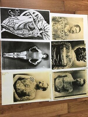 6 Old School Tattoo Photocopies photos from Owen Jensen's Collection fromLeeRoys
