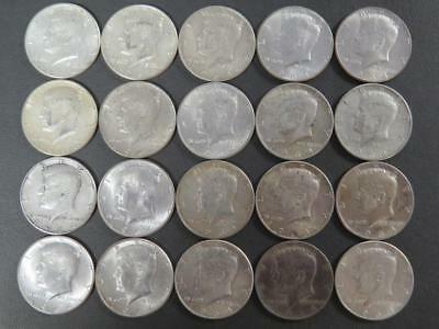 Roll of 20 Kennedy 90% Silver 1964 Half Dollars