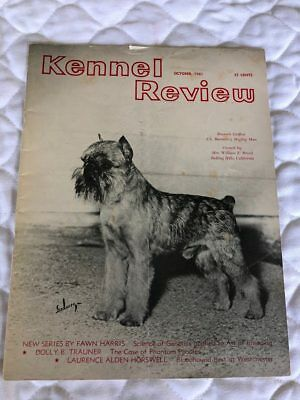 Dog Magazine 1961 Kennel Review Brussels Griffon Cover