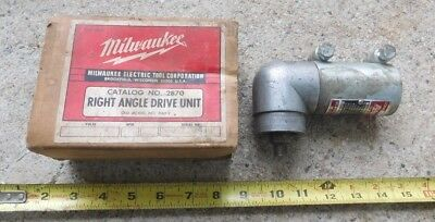 Milwaukee #2870 Right Angle Drive Unit Tool Drill