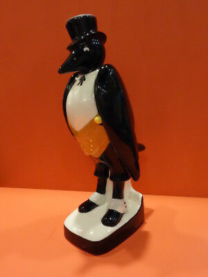 "All Original Royal Doulton Old Crow Decanter 12"" Vintage Advertising 1960"