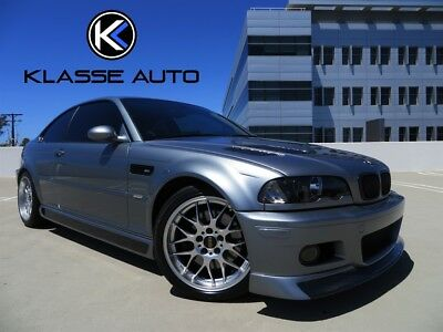 M3  2005 BMW M3 6 Speed Manual Coupe Only 24k Miles Perfect Car Carbon Upgrades Wow