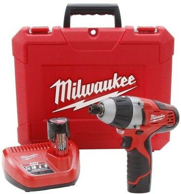 MILWAUKEE 1/4 In Hex No Hub Driver Kit 12 Volt Lithium Ion Cordless Power Tool