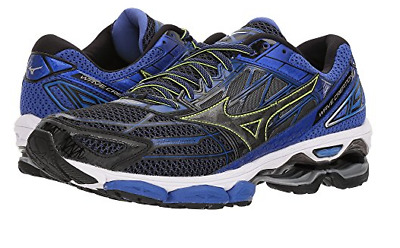 37240e518e2e MEN S MIZUNO WAVE Creation 18 Running Athletic Shoes Steel Grey Blue ...