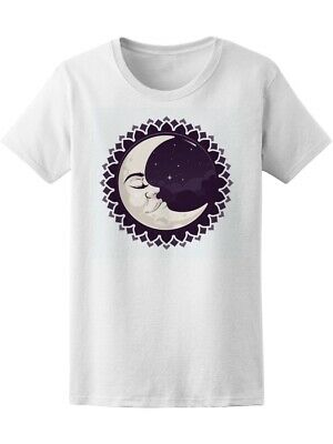 Cool Tribal Crescent Moon Women's Tee -Image by Shutterstock