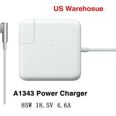 "Original OEM 85W MagSafe1 AC Adapter Charger for  MacBook Pro 15"" 17"" A1343"