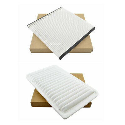 Combo Set Engine & Cabin Air Filter for 04-08 Solara 04-10 Sienna 02-06 Camry