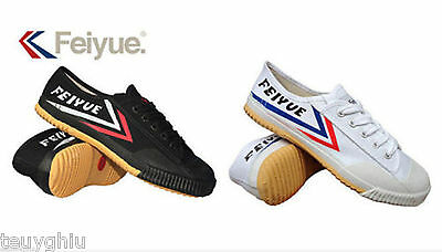 New Feiyue Original Lo Parkour Training Martial Arts Wushu Kung Fu Shoes FY 511