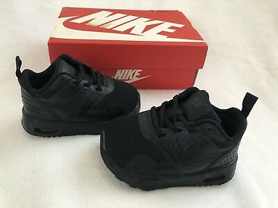 01b7f1ff8540c NIKE AIR MAX Tavas (TDE) Shoes Color  Black Size  4c Toddler Kids Shoes -   25.99
