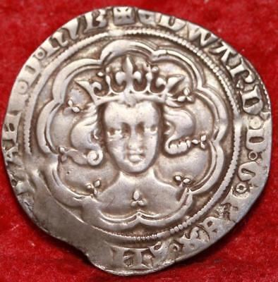 1351-2 Great Britain London Mix Silver Groat Foreign Coin