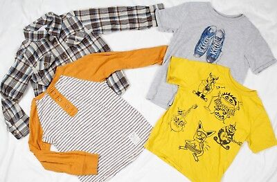 Gap Kids / Old Navy T-Shirts Long Sleeve Tops Boys Size 4 Year Monsters Sneakers