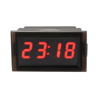 4-Digit 0.4inch LED Digital Electronic Clock for Car Motorcycle Scooter MA1223