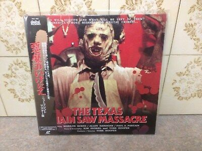 the texas chainsaw massacre ntsc laserdisc